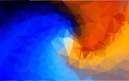 Abstrakcjonistyczny poligonalny tło, Obraz Royalty Free