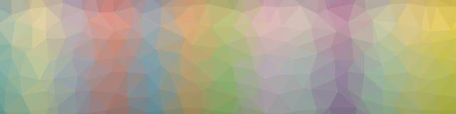 Abstrakcjonistyczny poligonalny tło obrazy stock