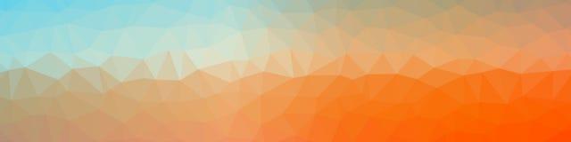 Abstrakcjonistyczny poligonalny tło fotografia stock