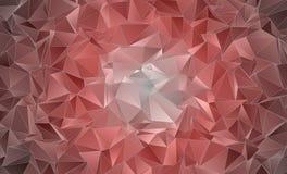 Abstrakcjonistyczny poligonalny tło Zdjęcie Stock