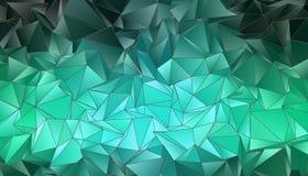 Abstrakcjonistyczny poligonalny tło Zdjęcia Royalty Free