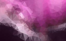 Abstrakcjonistyczny poligonalny tło, zdjęcie royalty free