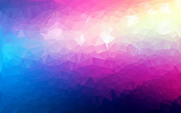 Abstrakcjonistyczny poligonalny tło Obraz Stock