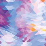 Abstrakcjonistyczny poligonalny tło Zdjęcie Royalty Free