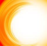 Abstrakcjonistyczny pomarańczowy tło Obraz Royalty Free