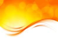 Abstrakcjonistyczny pomarańczowy tło Zdjęcie Stock