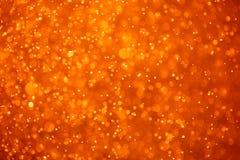 Abstrakcjonistyczny pomarańczowy tło Zdjęcie Royalty Free