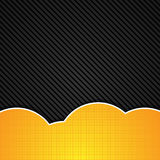 Abstrakcjonistyczny pomarańczowy tło. Wektorowa ilustracja. Obrazy Stock