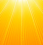 Abstrakcjonistyczny pomarańczowy tło z słońce lekkimi promieniami Obrazy Royalty Free