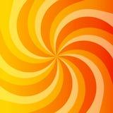 Abstrakcjonistyczny pomarańczowy władzy tło Fotografia Stock