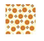 Abstrakcjonistyczny pomarańcze wzór Fotografia Royalty Free