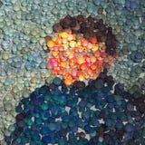Abstrakcjonistyczny portret Zdjęcia Royalty Free