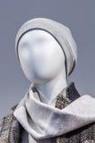 Abstrakcjonistyczny portret mannequin w centrum handlowym Obrazy Royalty Free