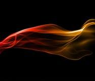 abstrakcjonistyczny potężny dym Zdjęcia Stock