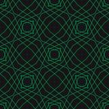 Abstrakcjonistyczny powtórki tło Zielona cyber siatka, projekt dla wystroju, druki, tkanina, meble, płótno, cyfrowy bezszwowa kon Zdjęcia Royalty Free
