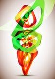 abstrakcjonistyczny projekt Obraz Stock