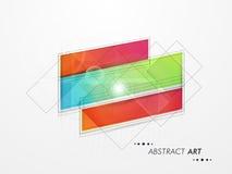 Abstrakcjonistyczny projekt dla biznesowego infographics Obrazy Royalty Free