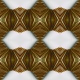 abstrakcjonistyczny projekt z liniami i geometrycznymi wzory z na powierzchni niciami, tłem i teksturą brązu i białych, zdjęcia royalty free