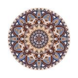 Abstrakcjonistyczny projekta czerni bielu element Round mandala w wektorze Graficzny szablon dla twój projekta Kurenda wzór royalty ilustracja