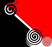 abstrakcjonistyczny projekta grafiki wektor Obraz Stock