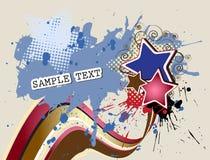 abstrakcjonistyczny projekta grunge wektor Obrazy Royalty Free