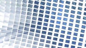 Abstrakcjonistyczny prostokąta tło na bielu zdjęcie wideo