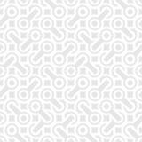 Abstrakcjonistyczny prosty geometryczny wektoru wzór - przeplatający kształty dalej royalty ilustracja