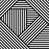 Abstrakcjonistyczny prosty pasiasty geometryczny tło Fotografia Stock