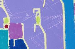 abstrakcjonistyczny Provence Obraz Stock
