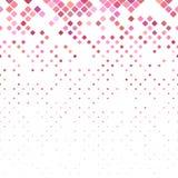 Abstrakcjonistyczny przekątna kwadrata wzór - wektor taflował mozaiki tło ilustracji