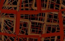 Abstrakcjonistyczny Przemysłowy linii tło Obrazy Stock