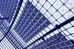 Abstrakcjonistyczny przemysłowy tło Zdjęcia Stock