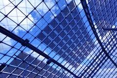 Abstrakcjonistyczny przemysłowy tło Zdjęcie Stock