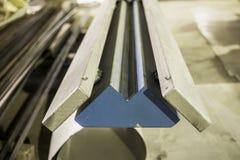 Abstrakcjonistyczny Przemysłowy tło, metalworking produkcja, zakończenie up warsztat z narzędzia wyposażeniem fotografia royalty free