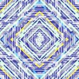 Abstrakcjonistyczny psychodeliczny bezszwowy wzór Obraz Stock