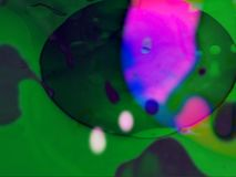 Abstrakcjonistyczny Psychodeliczny projekta ciecza światła przedstawienie zbiory