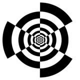 Abstrakcjonistyczny Psychodeliczny sztuki tło wektor Zdjęcie Stock