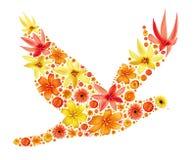 abstrakcjonistyczny ptak Fotografia Royalty Free