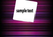abstrakcjonistyczny pudełkowaty tekst Fotografia Stock