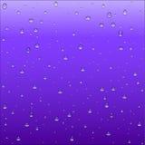 Abstrakcjonistyczny purpur i błękita gradientowy tło z jasnym wodnym dr Obrazy Royalty Free