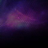 Abstrakcjonistyczny purpur i czerni kropek tło Zdjęcie Stock