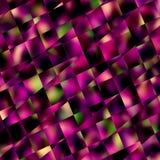 Abstrakcjonistyczny purpura kwadrata mozaiki tło Geometryczni wzory i tła Przekątien linii wzór Bloków kwadraty lub płytki ilustracja wektor