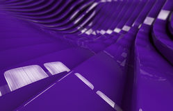 Abstrakcjonistyczny purpurowy glansowany metalu tło Fotografia Royalty Free