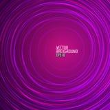 Abstrakcjonistyczny Purpurowy Round tło wektor Zdjęcie Royalty Free