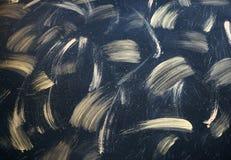 Abstrakcjonistyczny ręki drim tło z złotymi akrylowymi brushstrokes, obraz royalty free