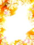 abstrakcjonistyczny rabatowy kolorowy kwiat Zdjęcia Royalty Free