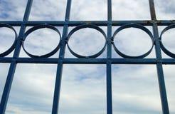 abstrakcjonistyczny ramowy metal Zdjęcia Stock
