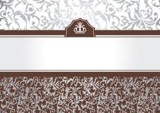abstrakcjonistyczny ramowy zaproszenie royalty ilustracja