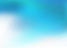 Abstrakcjonistyczny randon niebieskich linii tło Zdjęcia Stock