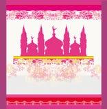 Abstrakcjonistyczny religijny tło - Ramadan Kareem projekt Obrazy Royalty Free